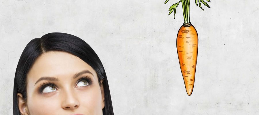 woman thinking about healthy eating
