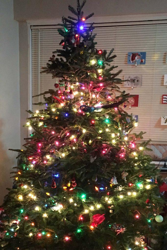 HodgeonRepeat Decorated Christmas Tree