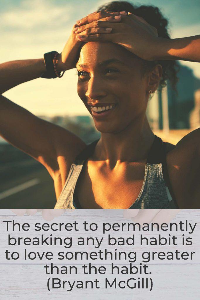 HodgeonRepeat - Bryant McGill quote - breaking bad habits