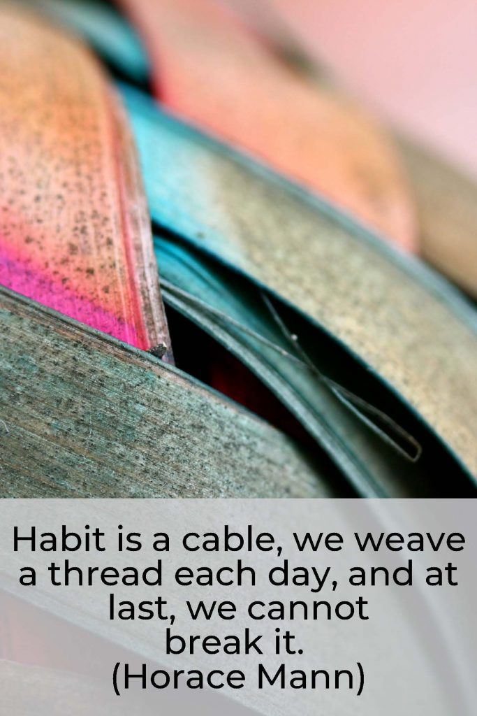 HodgeonRepeat - horace mann quote habit is a cable