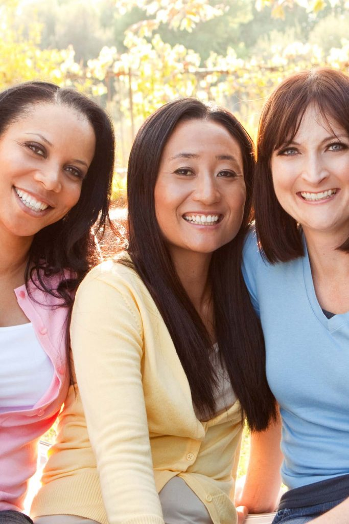 HodgeonRepeat blog - bonding with women during menopause - group of women over 40