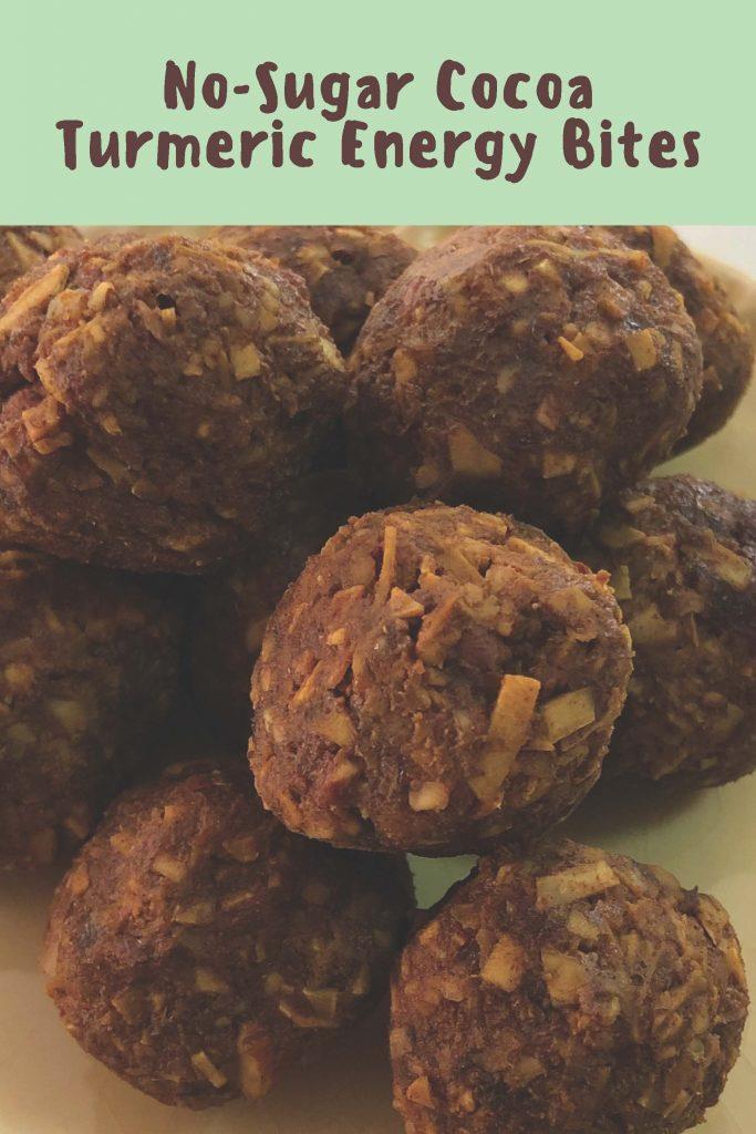 HodgeonRepeat blog - Cocoa Turmeric Energy Bites in bowl