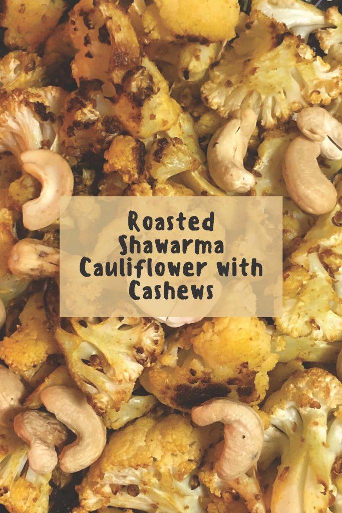HodgeonRepeat blog - Roasted Shawarma Cauliflower with Cashews closeup