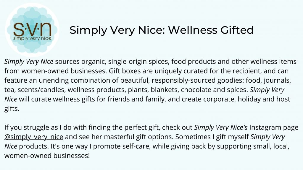 HodgeonRepeat blog - simply very nice wellness gifted summary of company and Instagram link