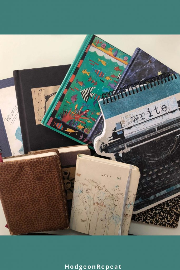 HodgeonRepeat blog - author's collection of journals