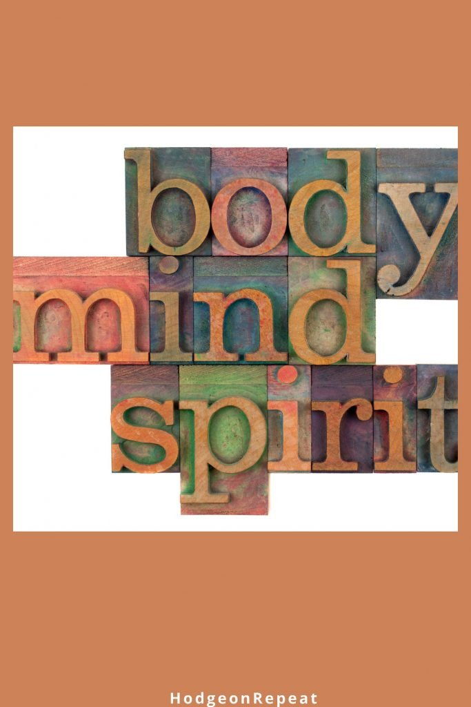 HodgeonRepeat blog - body mind spirit in block letters - journal prompts