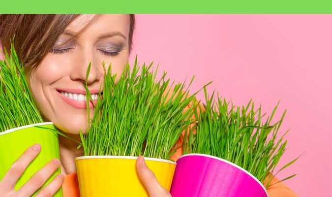 HodgeonRepeat blog - weight maintenance matters - featured image - smiling woman holding pots of grass