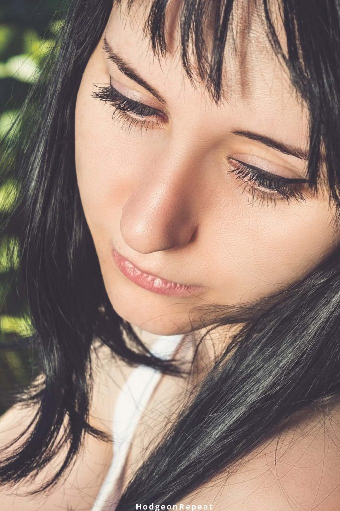 HodgeonRepeat blog - close up of sad woman looking down - power of exercise