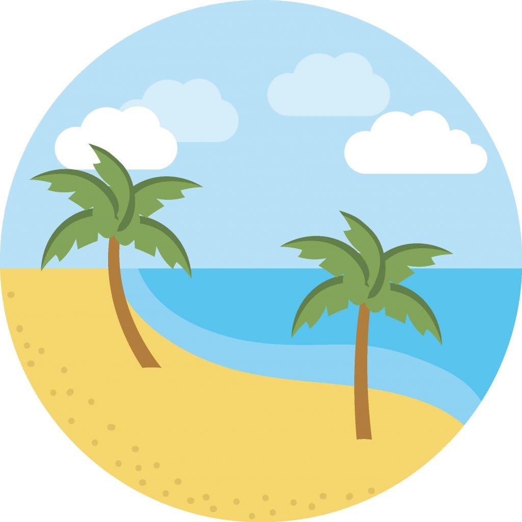 HodgeonRepeat beach icon
